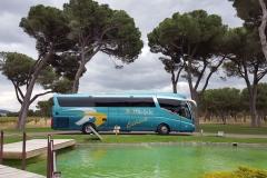 Автобус для групп в Мадриде